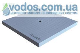 Крышка пластиковая (серая) PolyMax Basic 280 * 280 для дождеприемников