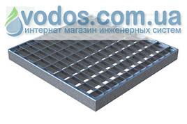 Решетка стальная Basic (ячеистая) 280 * 280 для дождеприемников