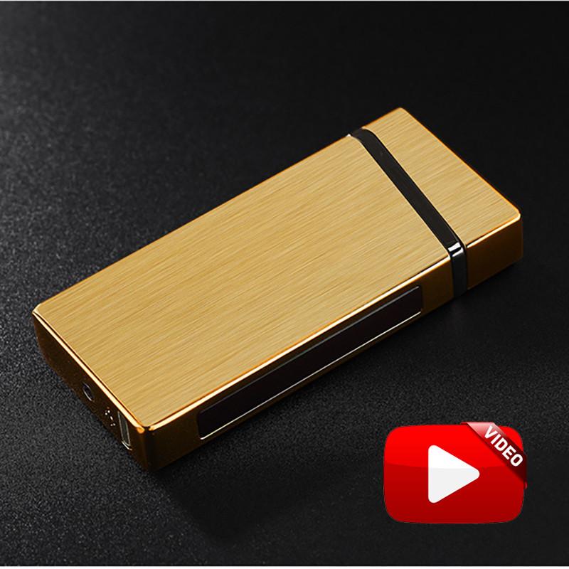 Электроимпульсная USB зажигалка Elegant gold 064_4