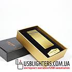 Электроимпульсная USB зажигалка Elegant gold 064_4, фото 2