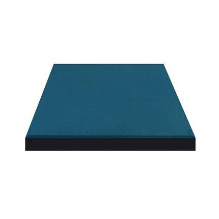 Резиновая плитка Синего цвета 40мм, фото 2