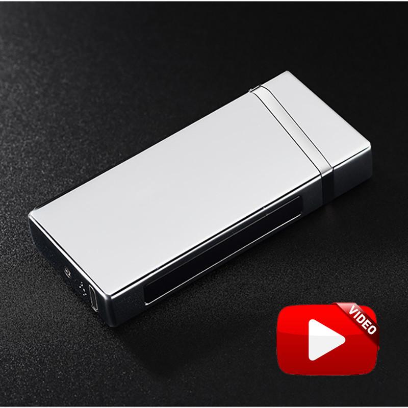 Электроимпульсная USB зажигалка Elegant Chromium 064_5