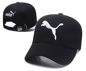 Бейсболка кепка Пума мужская/женская черная (реплика) Сap Puma Black