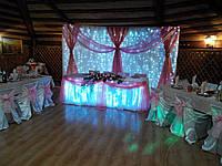 Оформление свадьбы, прокат текстиля, аренда декора Киев