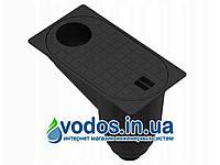 Бокс водосточный PolyMax Basic ГП-30.16-ПП пластиковый с вертикальным водоотводом черный 817009-Ч UA