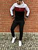 "Спортивный костюм без бренда ""White/Red/Black"", фото 2"