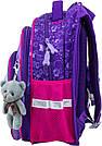 Рюкзак школьный ортопедический для девочек Winner Stile 8047, фото 3