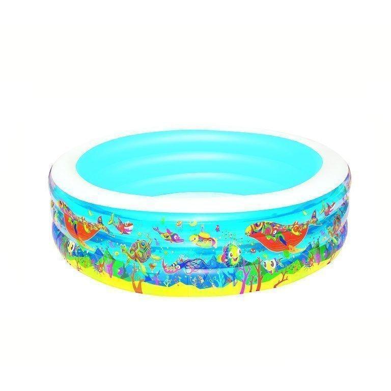 Детский надувной бассейн Bestway 51122 «Аквариум»