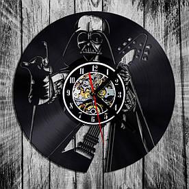 Настенные виниловые часы Heavy Metal Darth Vader