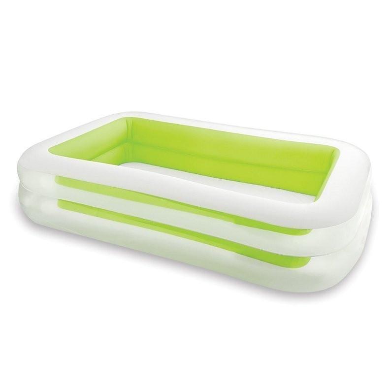 Детский надувной бассейн Intex 56483 «Морская волна» Зеленый