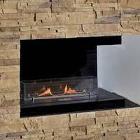 Біокамін камін прямий відкритий правий  500 мм. камин биокамин дизайн интерьера, фото 1