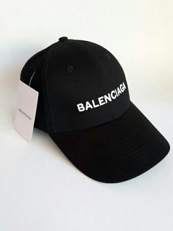 Бейсболка кепка Баленсиага мужская/женская черная (реплика) Сap Balenciaga Black