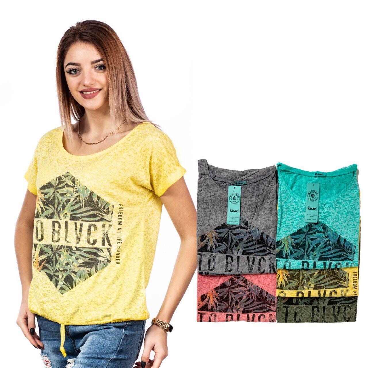Молодежная Женская футболка Одесса Оптом 7 км
