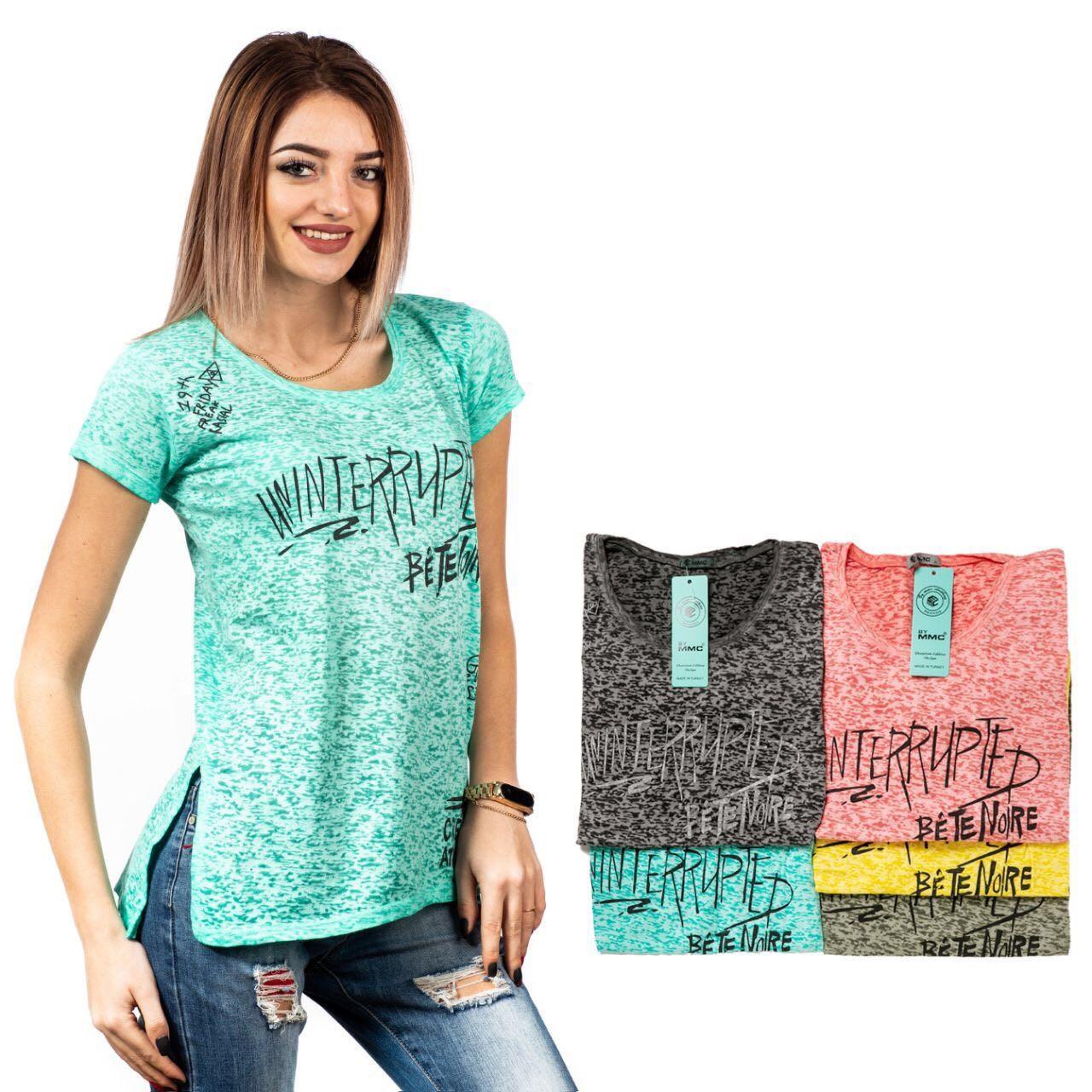 Недорогая Женская футболка Одесса Оптом 7 км