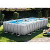 Каркасный бассейн Intex 26368 (28366) (732*366*132 см) с песочным фильтром и хлоргенератором, фото 2