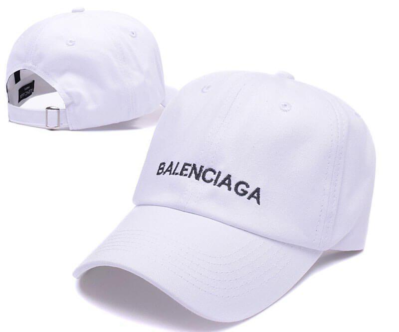Бейсболка кепка Баленсиага мужская/женская белая (реплика) Сap Balenciaga White