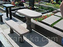 Гранитная скамья, фото 2