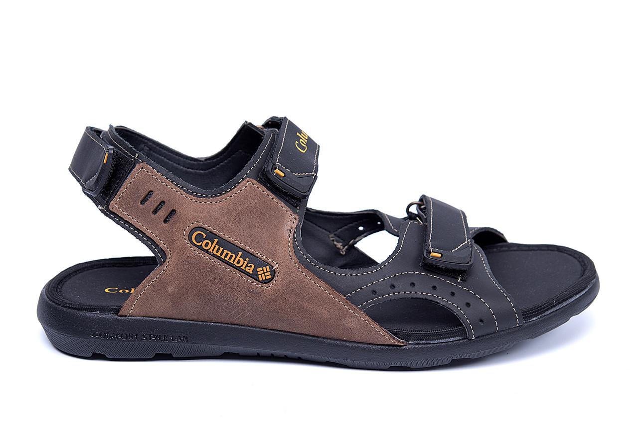 b492b30df502 Мужские сандалии Columbia Track, 2 цвета натуральная кожа (реплика ...