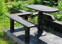 Гранитные столы и лавки от производителя, фото 3