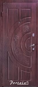 """Входная дверь """"Портала"""" (серия Комфорт) ― модель Рассвет"""