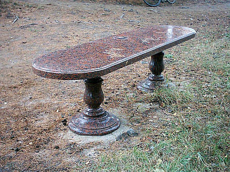 Гранитные столы и лавки от производителя, фото 2