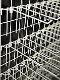 Одинарный крючок 50 мм на торговую сетку, фото 2