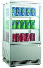 Шкаф холодильный Frosty RT58L-1D (white, black)