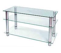 Стеклянный столик под ТВ- 15