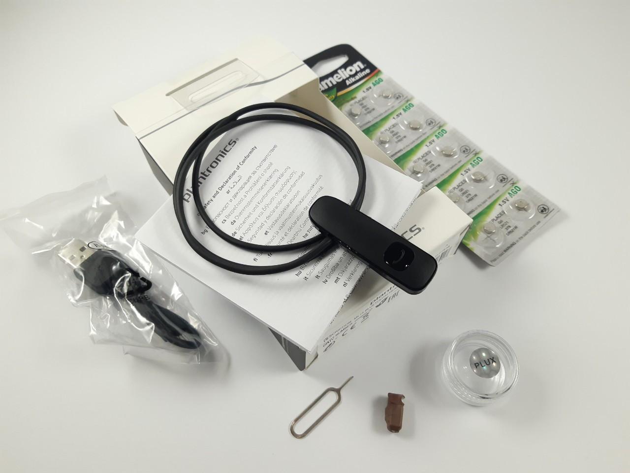Микронаушник для сдачи экзаменов, PL-23 Bluetooth Plantronics