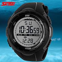 Противоударные водонепроницаемые часы Skmei Army Black оригинал