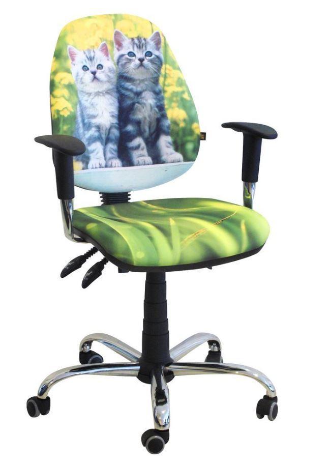 Кресло Бридж Хром Дизайн №8 Котята