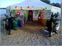 Оформление вечеринок, декор на прокат, гавайские аксессуары