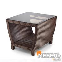 Стол из ротанга купить, Белиссимо Мебель из ротанга, столы для кафе, бара, ресторана.