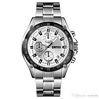 Мужские часы Skmei 1366 Chronograph  (quartz) 3Bar, фото 1