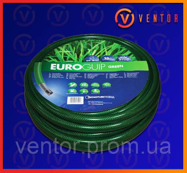 """Шланг поливочный Euro Guip Green 3/4"""", длина 20м, 30м, 50м"""
