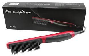 Масажна гребінець випрямляч Fast Hair Straightener ASL-908