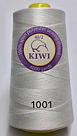 Швейные нитки №1001 40/2 полиэстер Kiwi Киви 4000ярдов