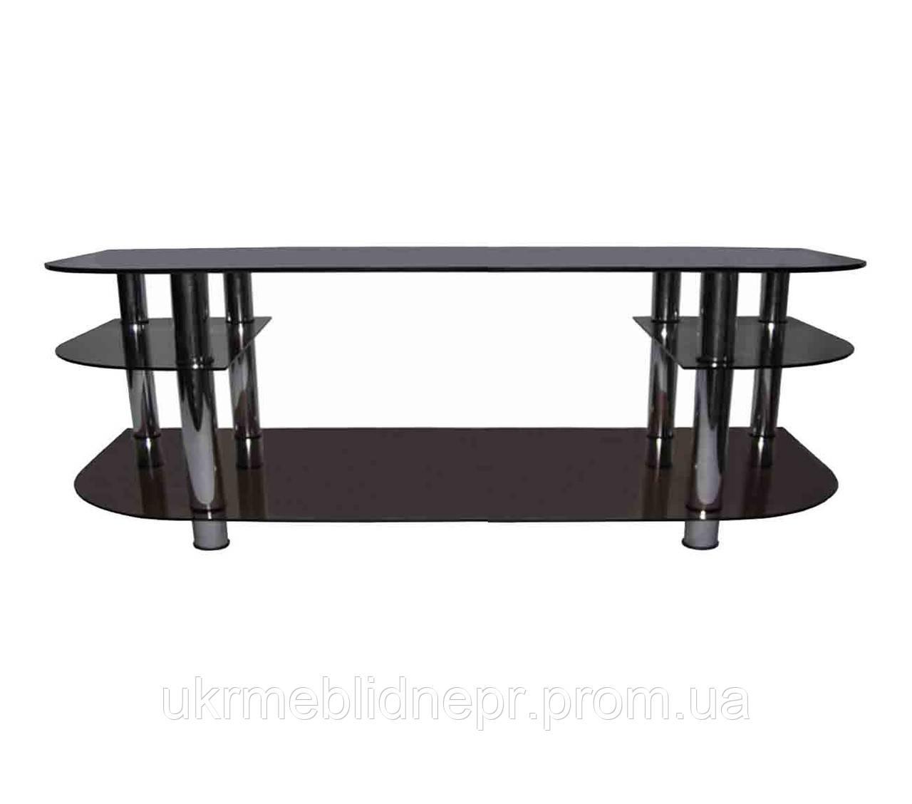 Стеклянный столик под ТВ-21