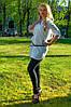 Женская рубашка(42-60) 8019  +пояс в подарок, фото 2