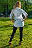 Женская рубашка(42-60) 8019  +пояс в подарок, фото 3