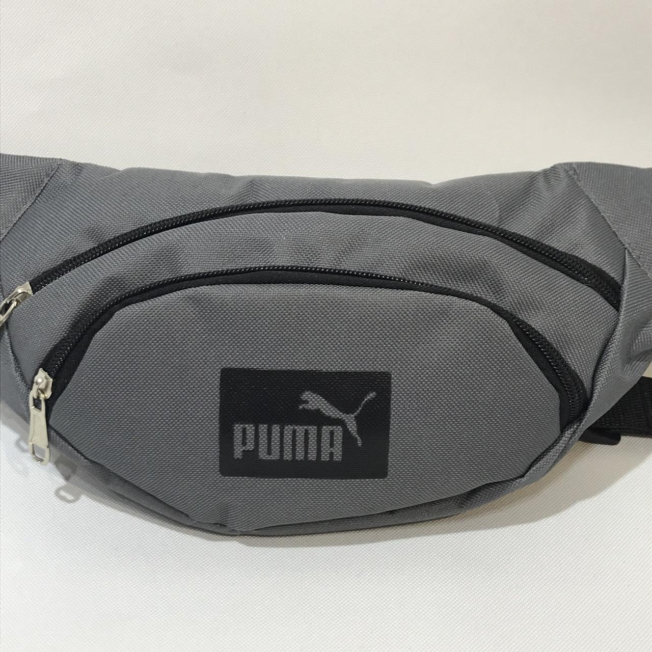 Сумка поясная Puma / светло-серая