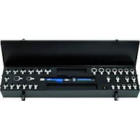 Набор динамометрический ключ (5 - 50 Нм) с переходниками (33 единицы)  ERGOTORQUE KS Tools Германия