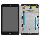 Дисплей модуль Acer Iconia One 7 B1-750 в зборі з тачскріном, чорний