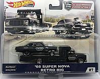 Коллекционные  модели Hot Wheels '66 Super Nova Retro RIG