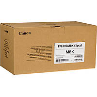 Картриджи Canon PFI-707MBK для iPF830/840/850, Мatte Black, 3х700 мл (3-Pack)