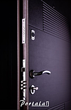 """Вхідні двері для вулиці """"Порталу"""" (Еліт Vinorit) ― модель Каліфорнія, фото 3"""