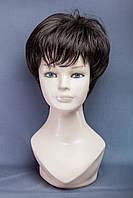 Короткий парик №18. Цвет черный шоколад