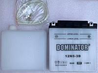 Аккамулятор  12V5A DOMINATOR JAWA ACTIV заливной    120*130*61