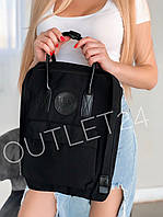Рюкзак в стиле Fjallraven Kanken No. 2 16 л Black