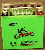 Аккамулятор  12V5A JAWA ACTIV высокий зеленый 120*130*60